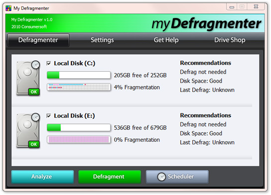 Defragmenting Your Windows 7 Computer for Better ...